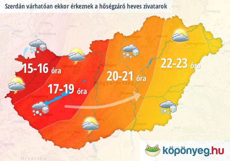 időjárás előrejelzés