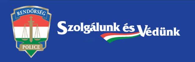 rendőrség logo